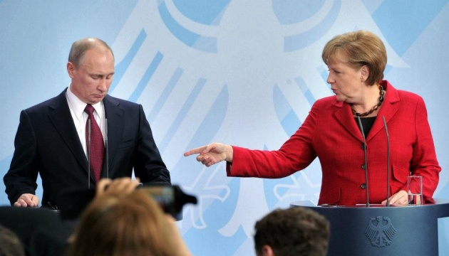 Merkel rozmawiała z Putinem - wersje z Berlina i Moskwy