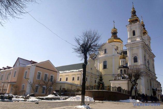 Спасо-Преображенський собор УПЦ - колишній монастир домініканців