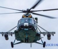 В Ривненской области разбился вертолет ВСУ, четверо погибших