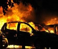 Главному редактору телеканала сожгли машину