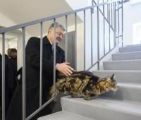 Порошенко открыл в Житомире четыре общежития для военных