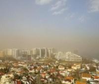 Одесчину накрыла пылевая буря