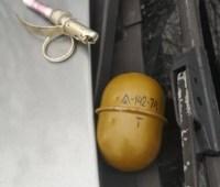 На Днепропетровщине водитель бросил в полицейских гранату