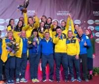 Женская сборная Украины стала лучшей на чемпионате Европы по борьбе