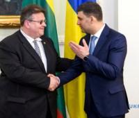 Литва останется последовательным партнером Украины - Гройсман