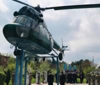 На Львовщине почтили память военных летчиков, которые погибли в зоне АТО