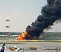МИД проверяет информацию о пострадавшей на самолете в Шереметьево украинке