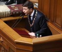 Инаугурационый спич президента Зеленского: сторонники и оппоненты