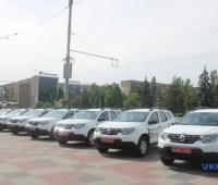 Сельским амбулаториям в Запорожской области передали 17 автомобилей