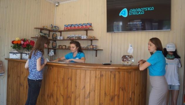 На Арабатській Стрілці з'явився туристично-інформаційний центр