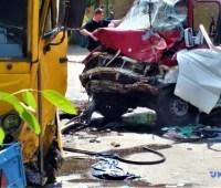 Масштабное ДТП в Боярке: водитель маршрутки получил подозрение