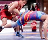 Украинцы выиграли три медали в заключительный день первенства Европы по вольной борьбе