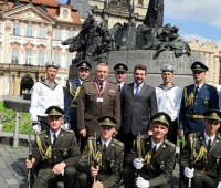 Почетный караул ВСУ принял участие в фестивале Drillfest в Праге
