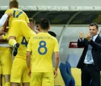 Сборная Украины по футболу поднялась на три позиции в рейтинге ФИФА
