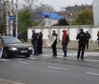 Одесситы протестовали из-за незаконной застройки приморских склонов и зеленых зон