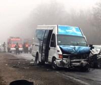 Смертельное ДТП в Хмельницкой области — столкнулись маршрутка и легковушка