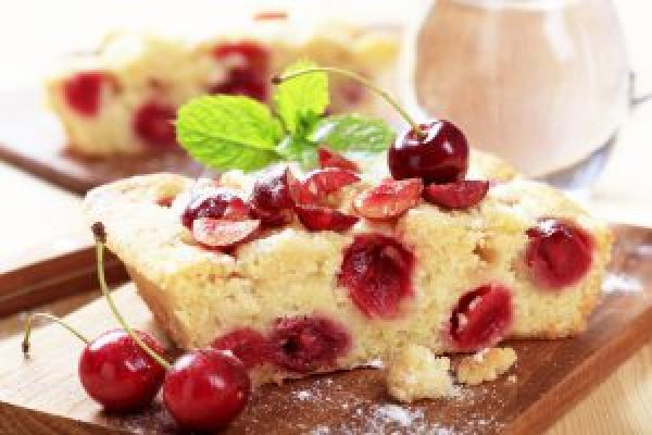 Beneficiile cireselor- prajitura cu cirese