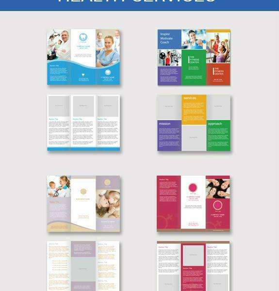 Health Services Brochures