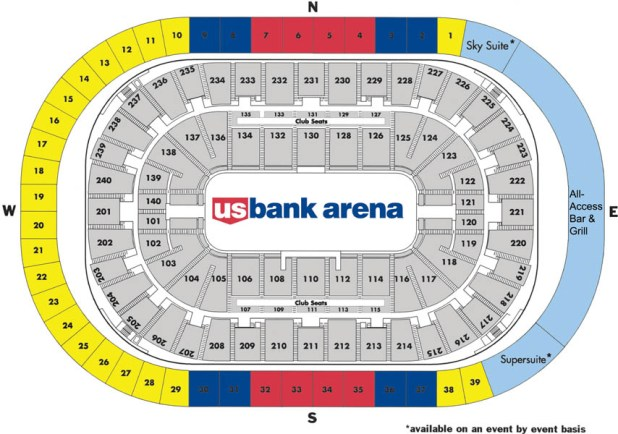 Click Here For A Suite Chart U S Bank Arena Contact Premium Seating