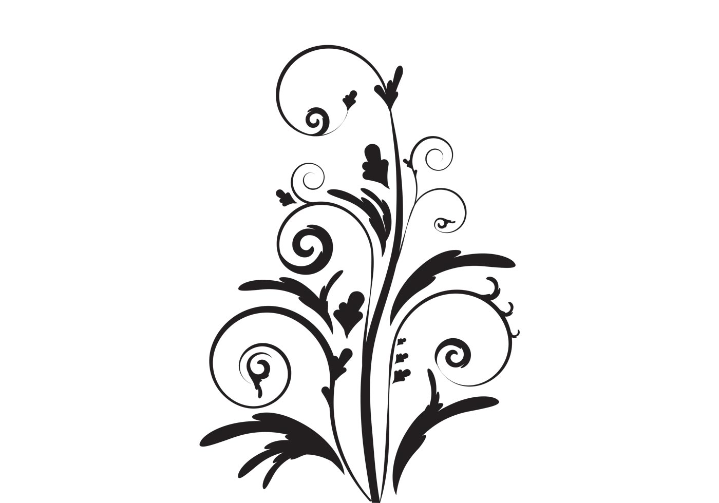 Free Elegant Floral Vector From Vecteezy
