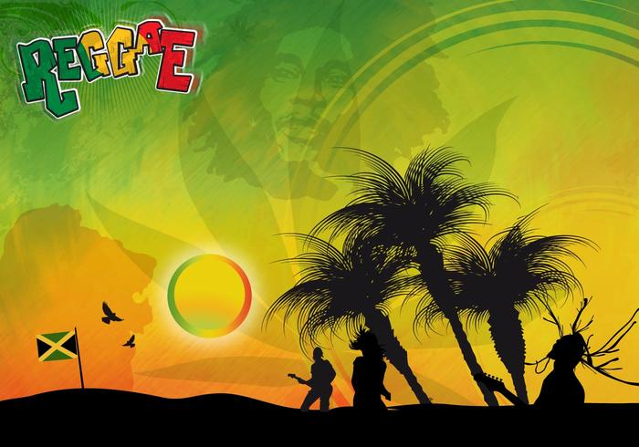 Reggae Background Download Free Vector Art Stock