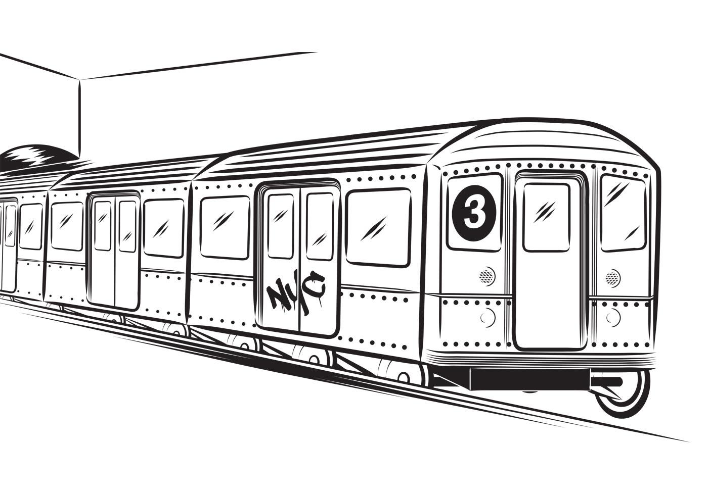 Free Subway Vector