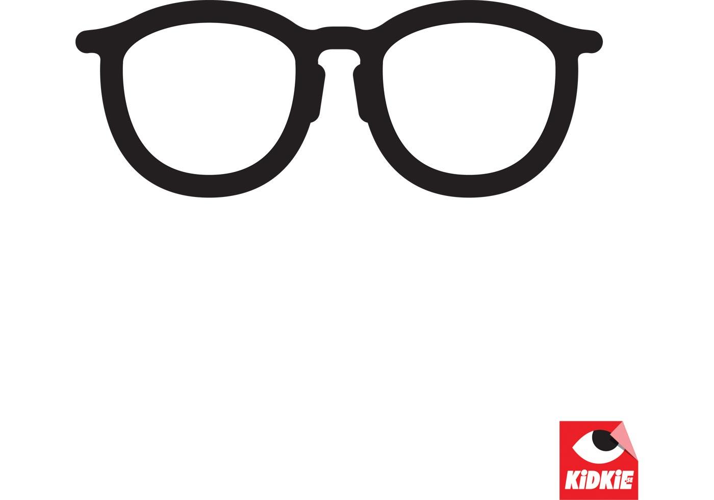 Clean Specs Glasses Vector
