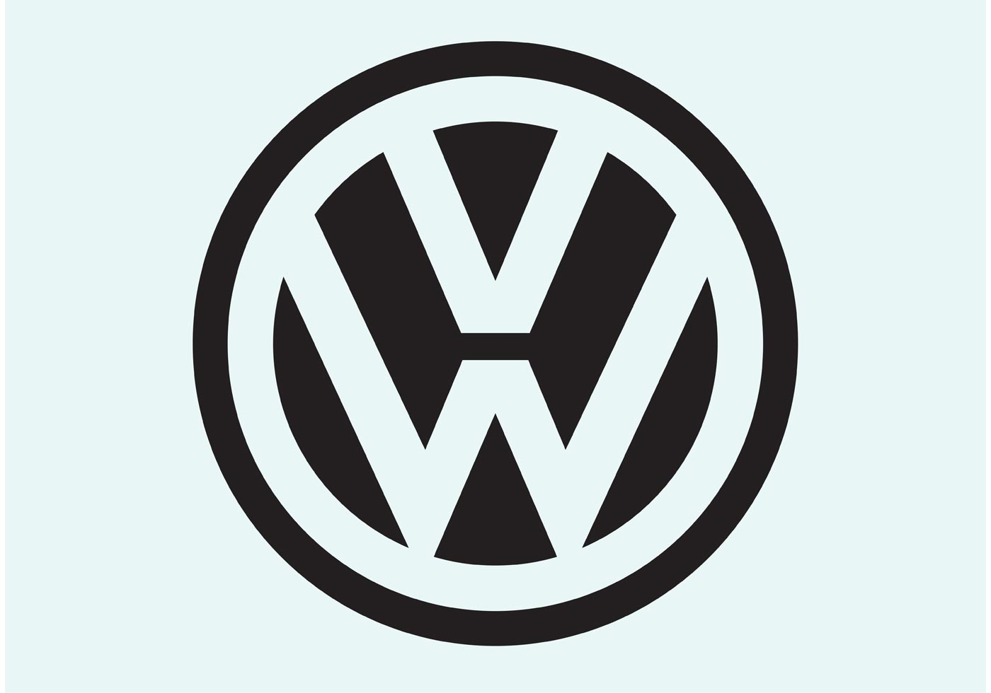 Volkswagen Golf Free Vector Art