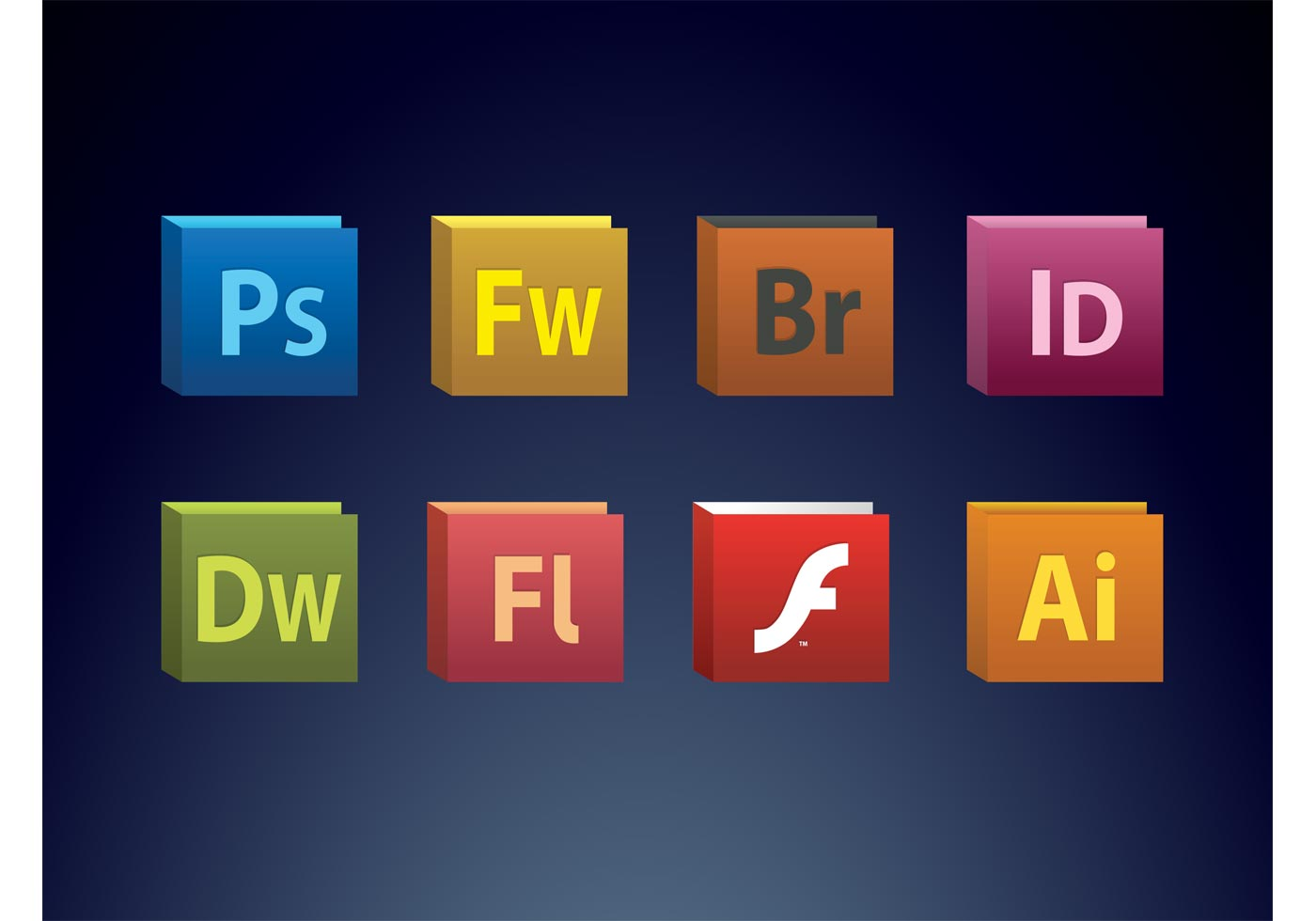 Creative Suite Icons Download Free Vector Art Stock
