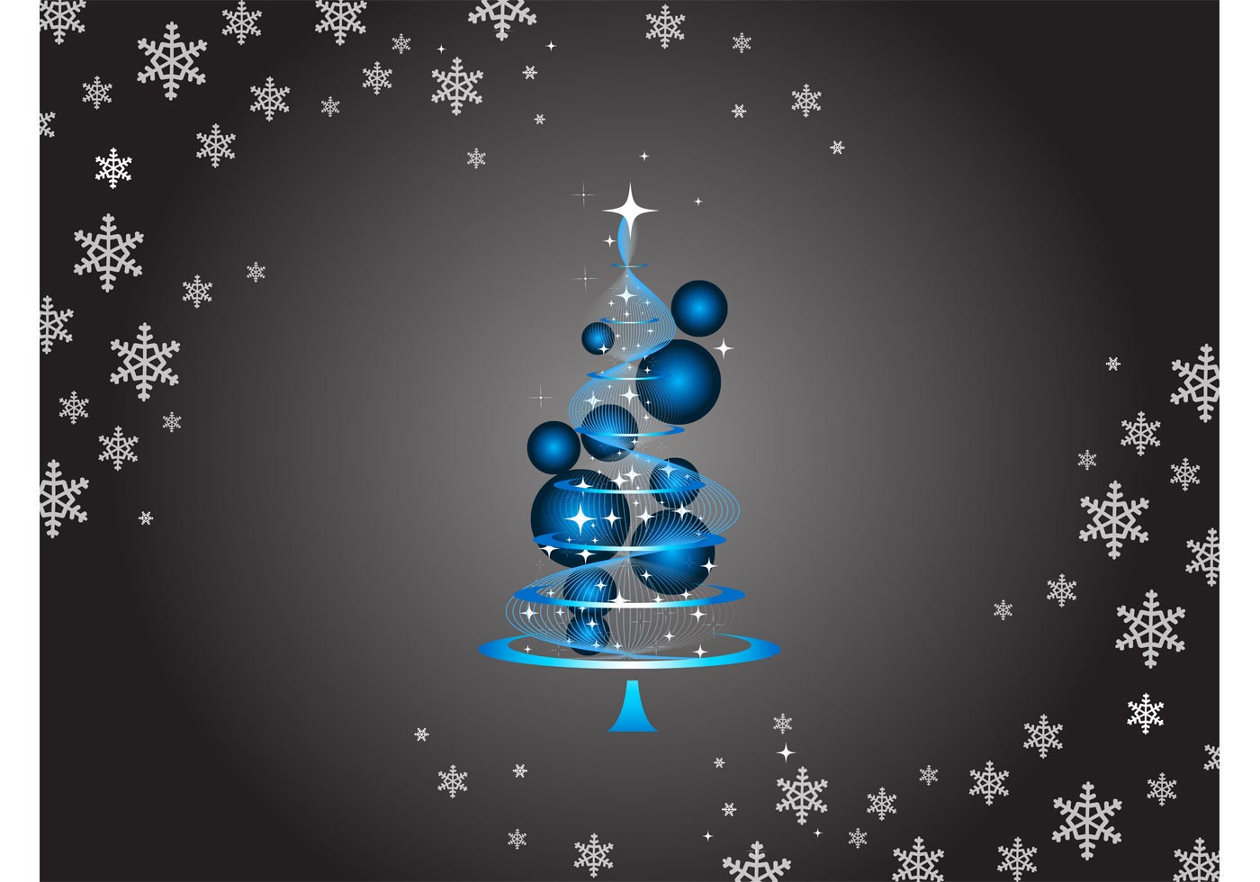 Abstract Christmas Tree Download Free Vector Art Stock