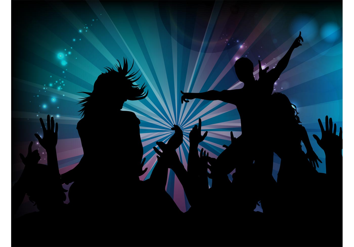 Dance Party Graphics Download Free Vector Art Stock