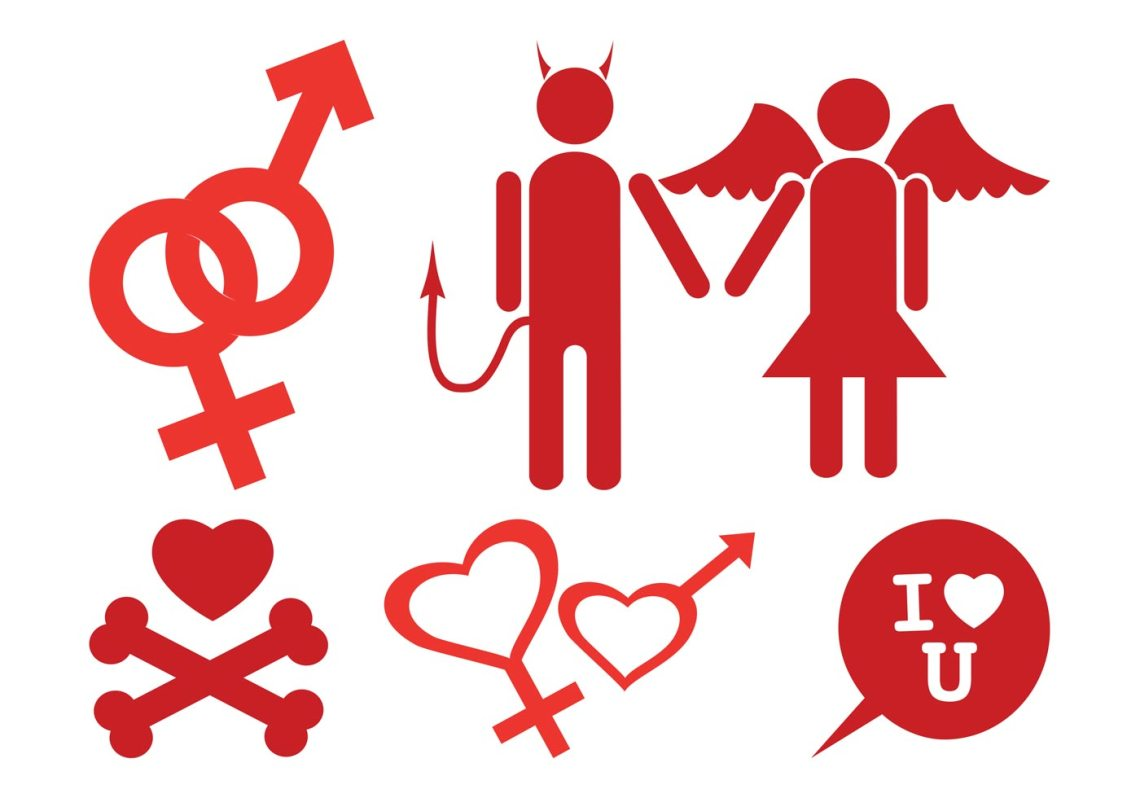 Download Love Icons Set - Download Free Vector Art, Stock Graphics ...