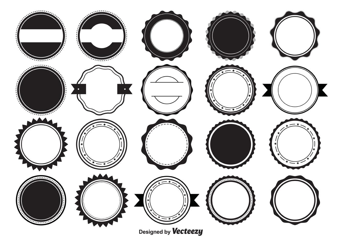 Vector Badge Shapes