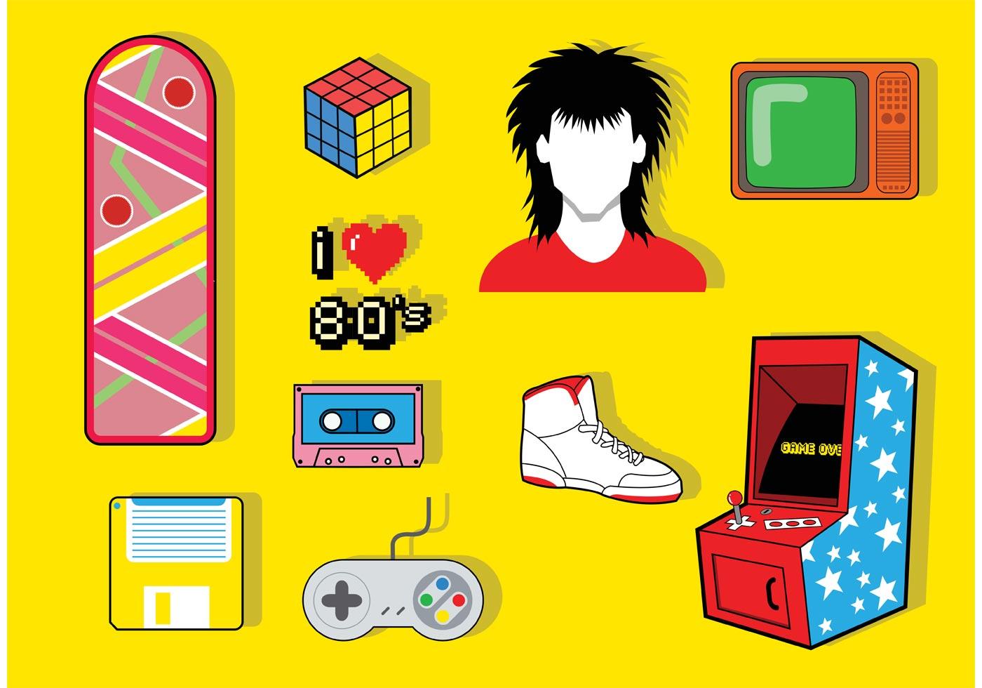 80siconvectorpack.jpg (1400×980) 80s posters, 80s