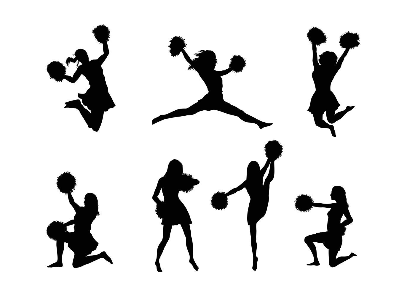 Cheerleader Free Vector Art