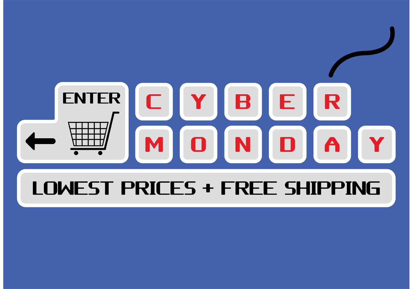 Cyber Monday Vector Download Free Vector Art Stock Graphics Amp Images