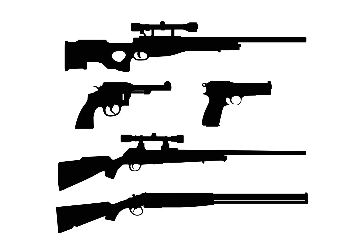 Gun Free Vector Art