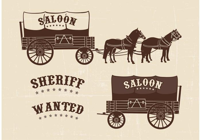 Western Sheriff Star Scroll Black And White
