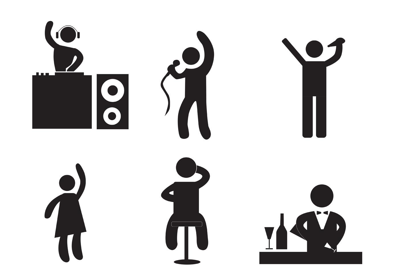 Karaoke Noite Impressao Baixar Vetores Gratis
