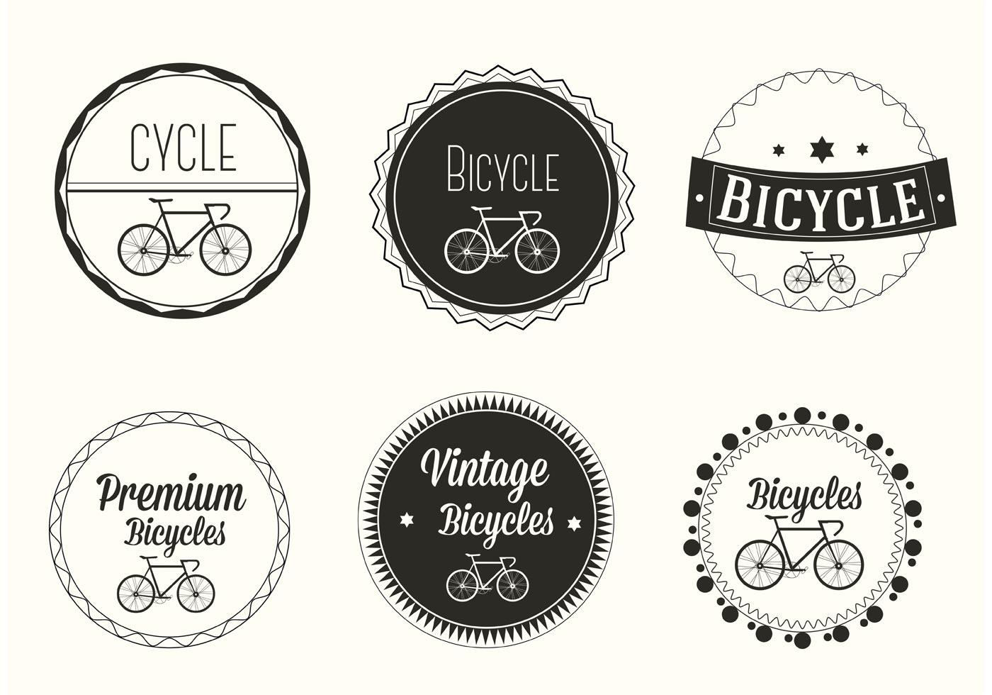 Bycycle Free Vector Art