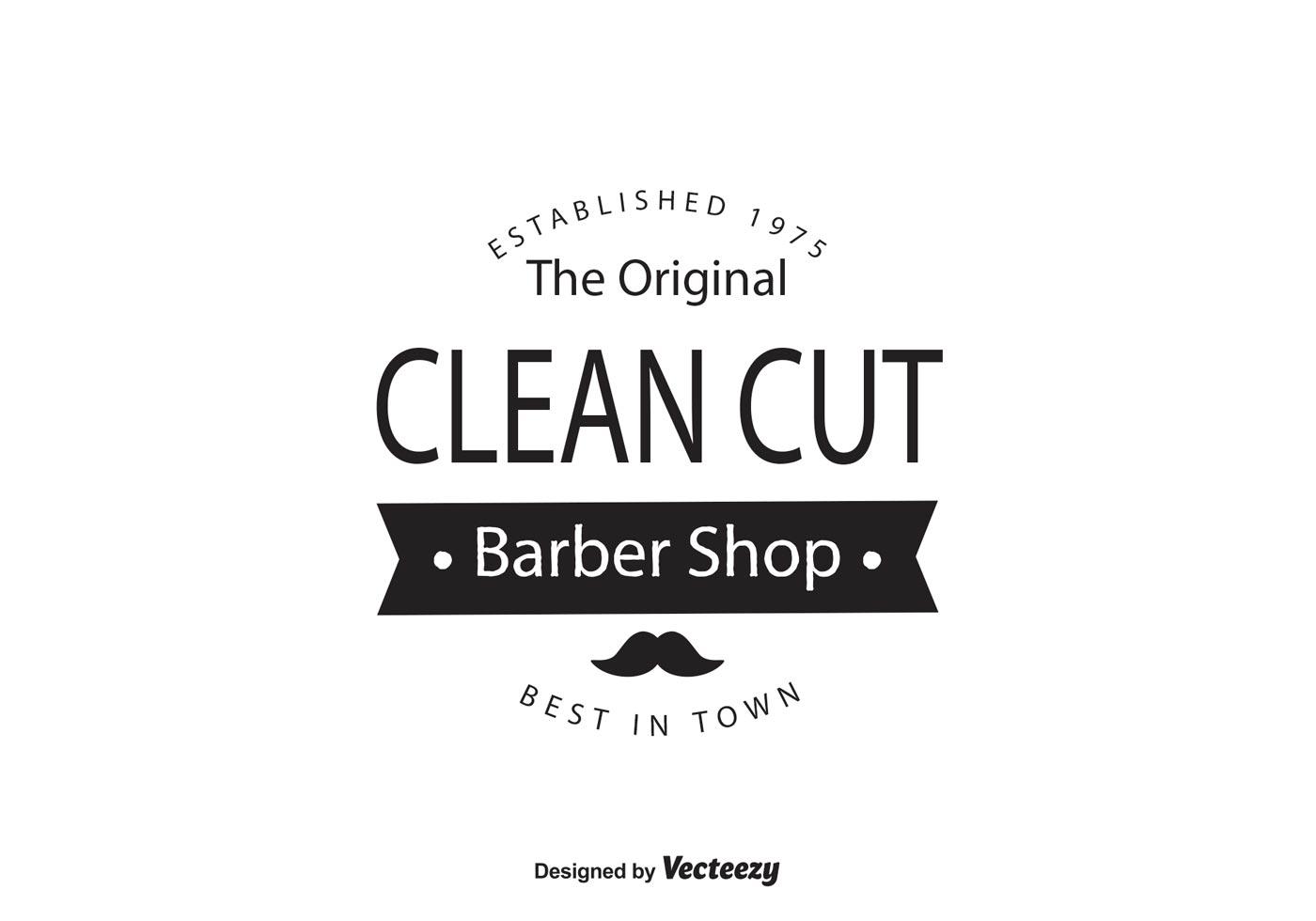 Barber Shop Logo Template