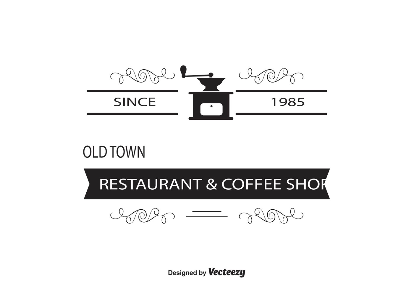 Coffee Shop Logo Insignia Template Download Free Vector Art Stock Graphics Amp Images