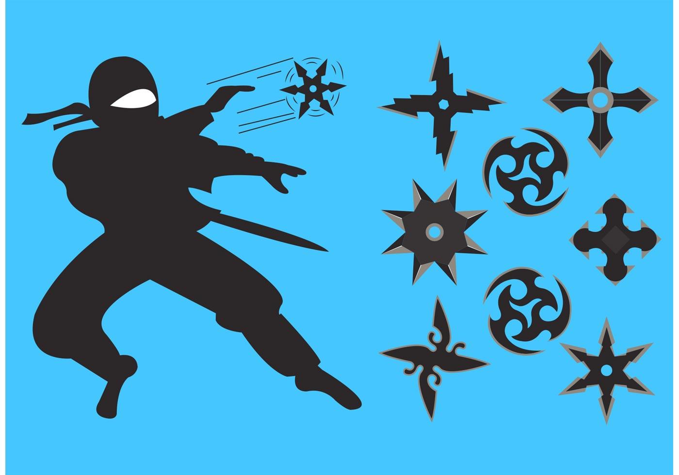 Ninja Star Clipart