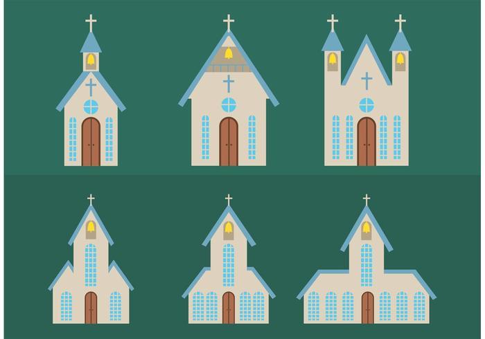 Christian Cross Vector Outline