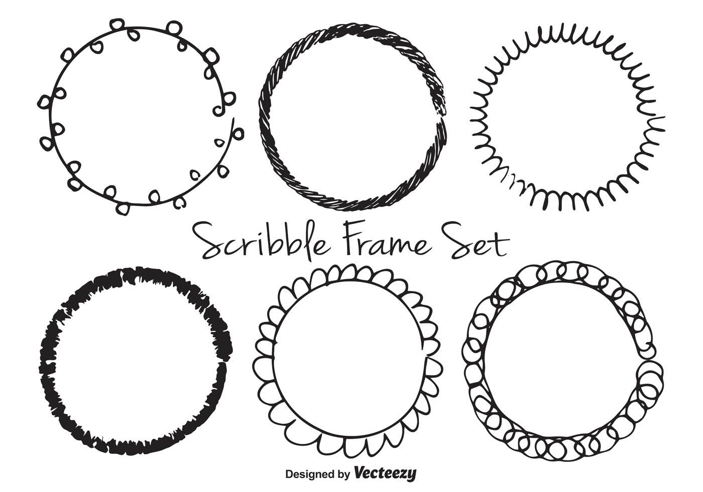 Scribble Free Vector Art