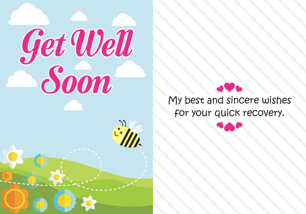 Get Well Cards Messages Free Billingss