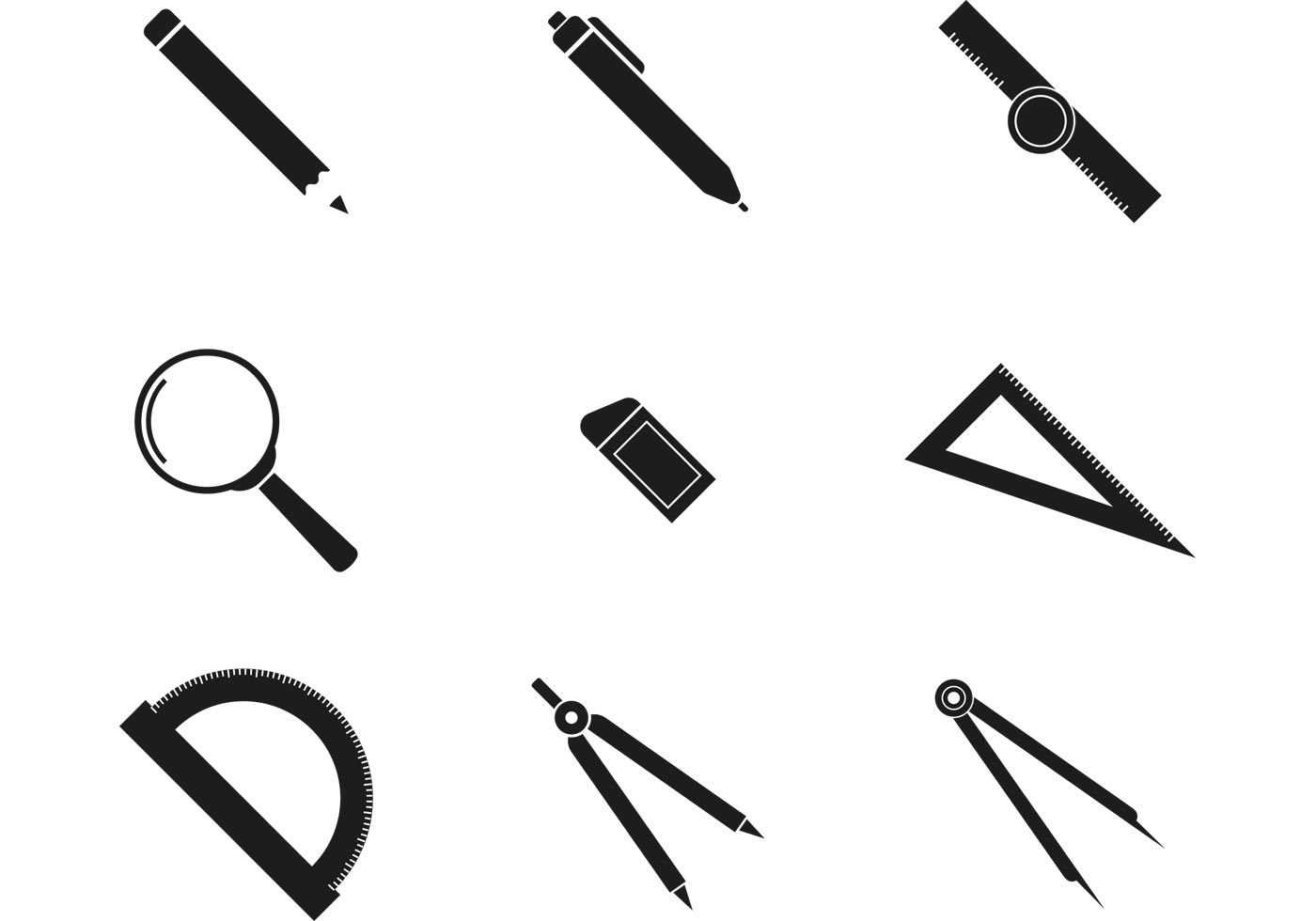Bw Architecture Icons