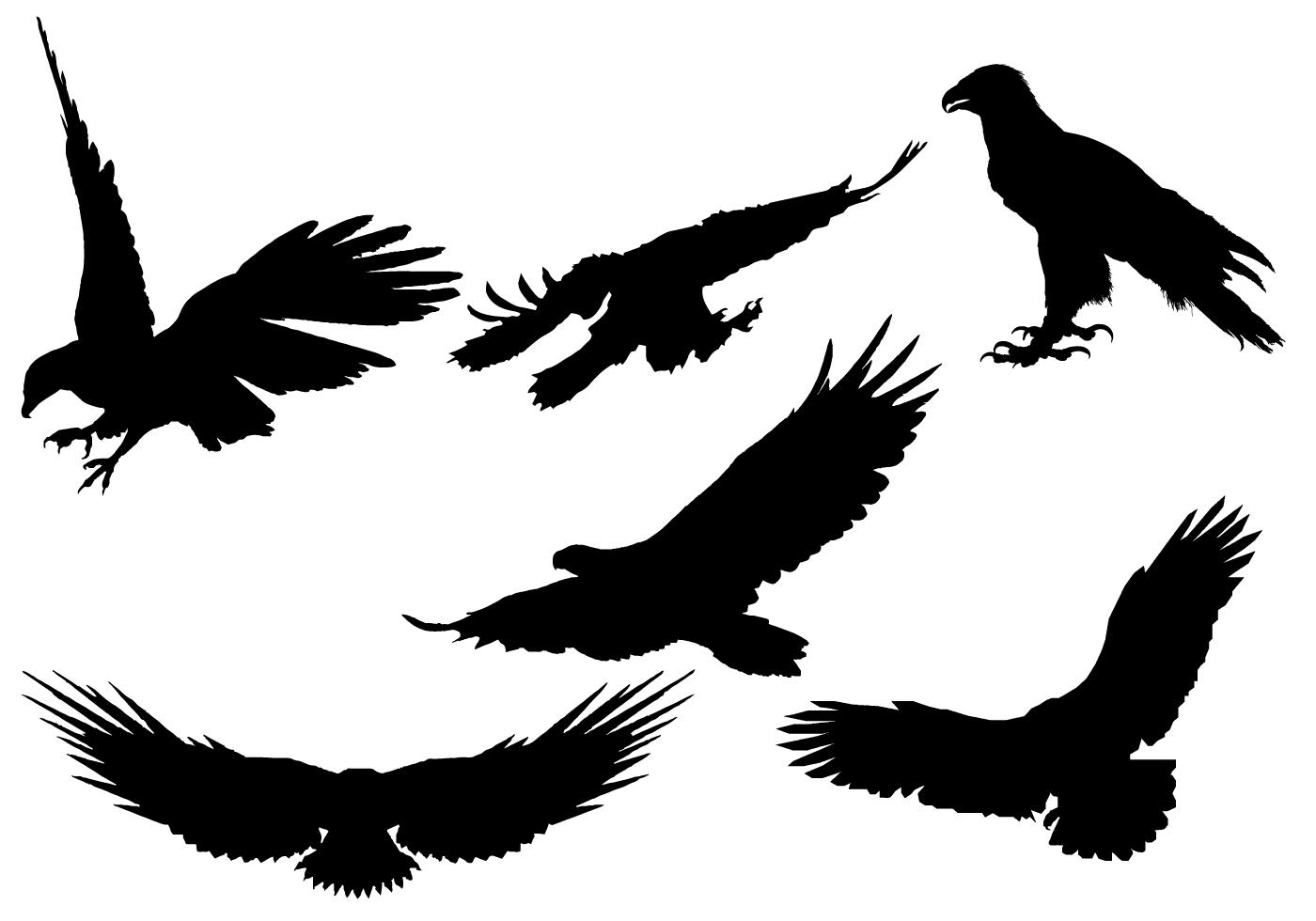 Free Eagle Silhouette Vector