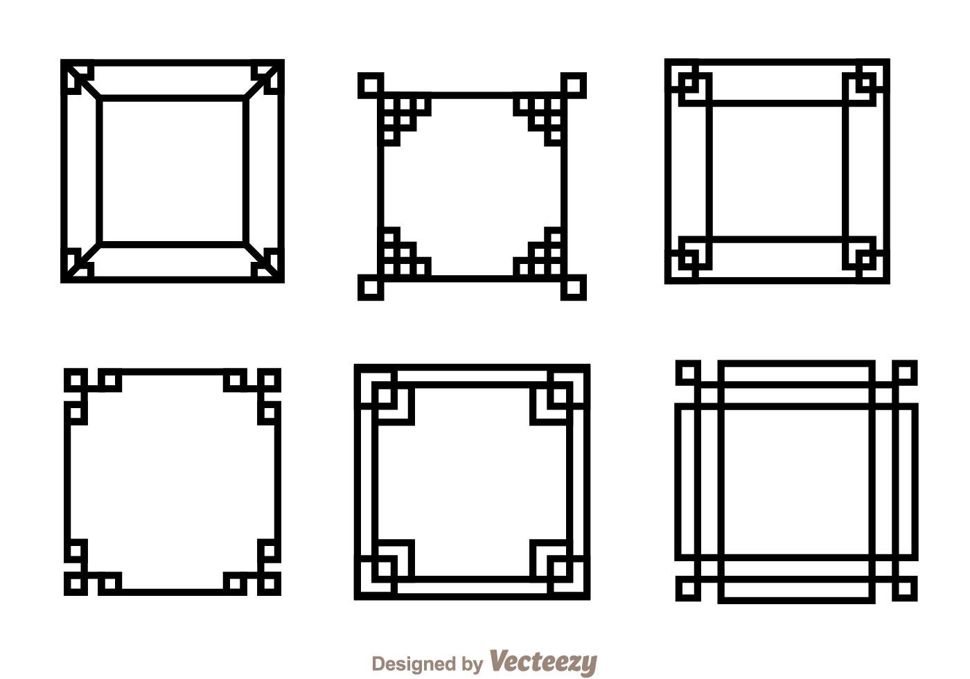 Japanese Square Frame