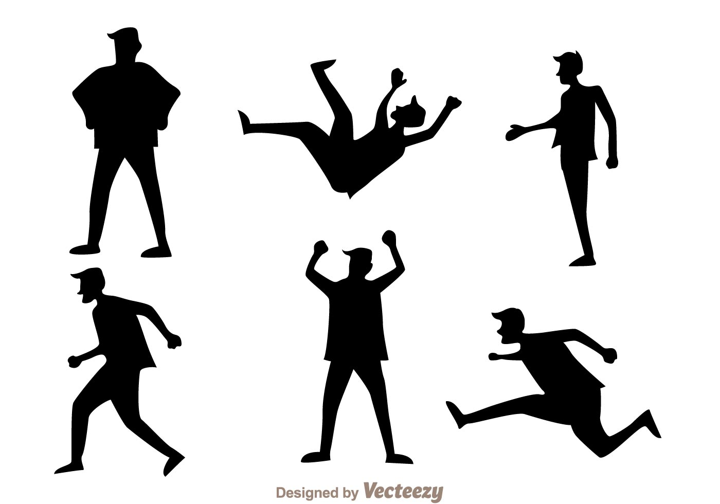 Man In Action Icons